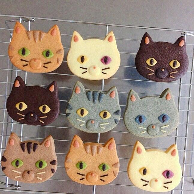 ネコのクッキー