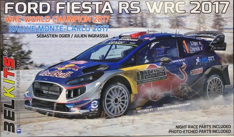 ベルキット 1/24 フォード フィエスタRS WRC 2017のパッケージ