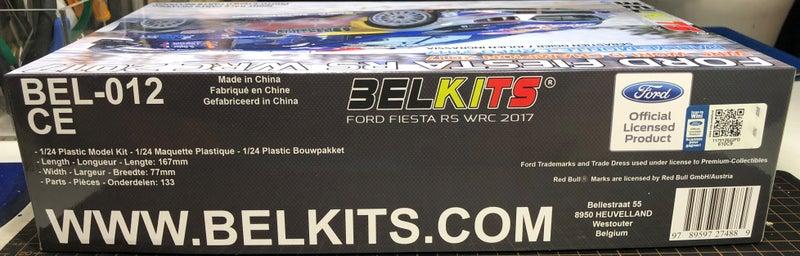ベルキット フィエスタRS WRC2017の外箱(パッケージ)