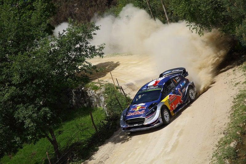 Mスポーツ・フォード フィエスタRS WRCの実車写真