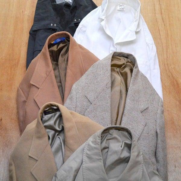 春物テーラードジャケット画像@古着屋カチカチ