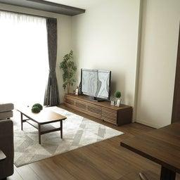 画像 リビングへ入る引戸の開き方で家具の配置が異なってきます。ソファ前が広くなり、ソファも大きくできる の記事より 7つ目