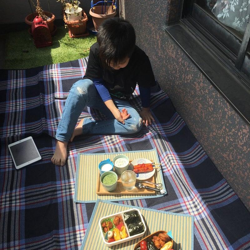 ベランダ ピクニック