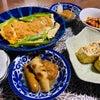 レンチンオンパレードの晩ご飯の画像