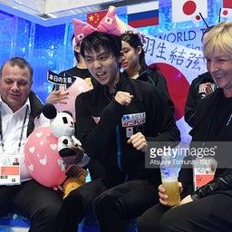 画像 「もう一度世界選手権の舞台で金メダルを掲げる羽生選手を撮りたい」 の記事より