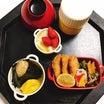 しじみの味噌汁・アジフライ弁当・きぼうの光・スーパームーン