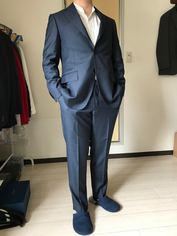 スーツは戦闘服!背筋が伸びるwear worksオーダーメイド