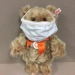 画像 テディベアも新型コロナウイルス対策をしているよ!! の記事より 1つ目