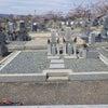 お墓の建て直し工事の画像