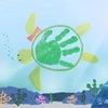 【6月の手形アート】手形アートで楽しい水族館を作ろう❗️の画像