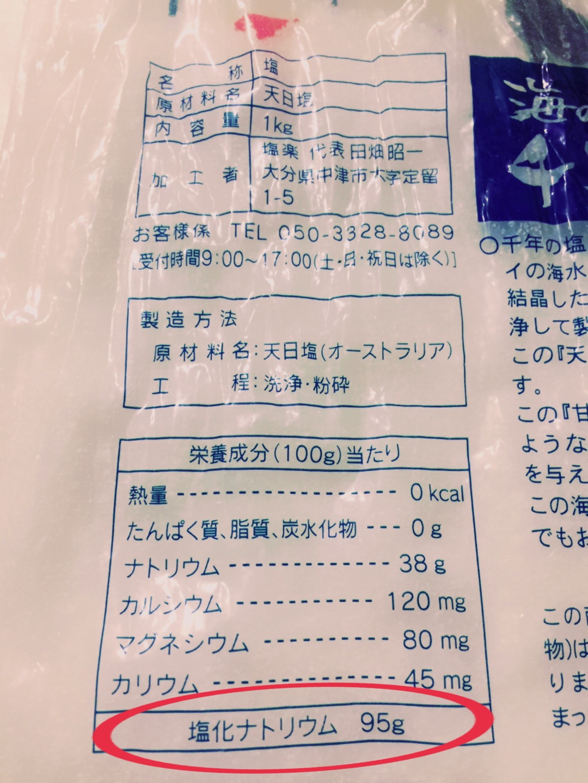 ニキビ 塩 ミネラル