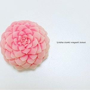 和菓子教室♪2/23開催針切り乙女椿☆針切りがもっと上手くなりたいという方にオススメですの画像