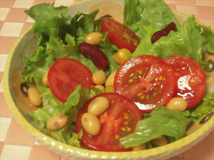 リーフ レタス サラダ