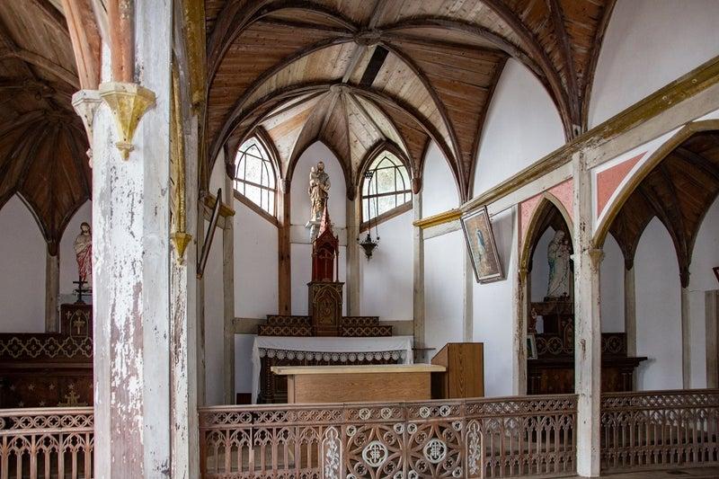 五島列島世界遺産の旅 その16 久賀島の集落の世界遺産・旧五輪教会堂 ...