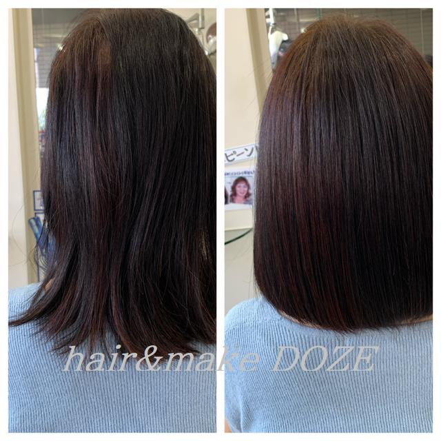 ドーゼの髪質改善プレミアムトリートメントは単なるトリートメントではありません!!!