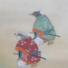 季節物の掛軸   岩佐古香作「桃太郎」の記事より