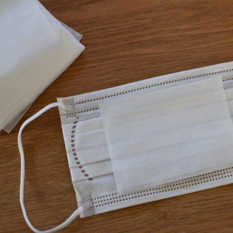 お茶 パック マスク フィルター マスクのフィルターの代わりに使えそうな100均グッズ