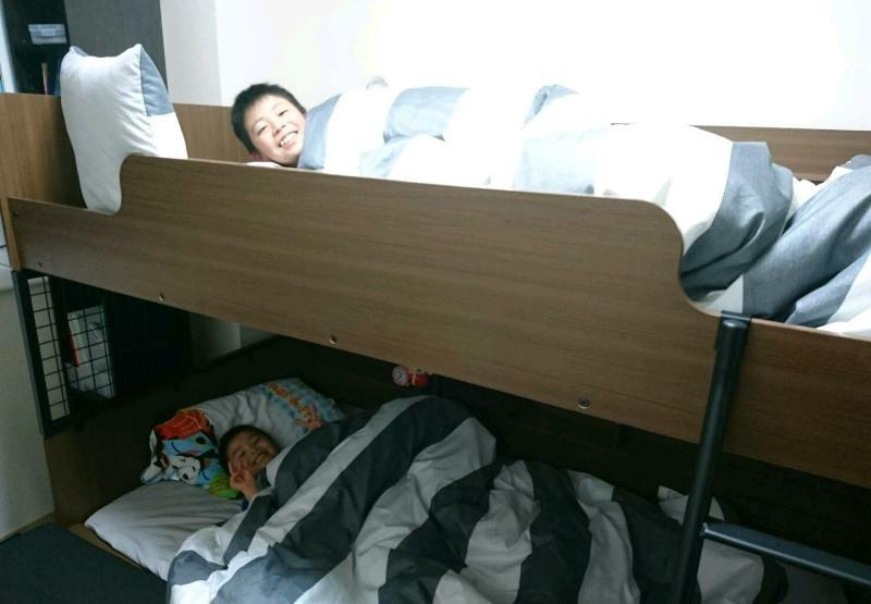 ベッド 段 マイクラ 二