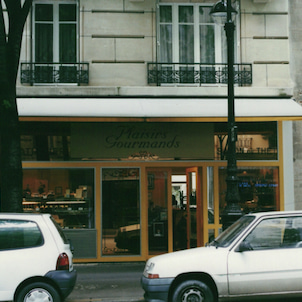 """ラデュレ出身の若きシェフの店""""プレジールグルマン""""での研修の画像"""