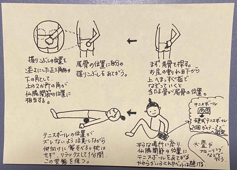 テニス ボール 仙 腸 関節 凝り固まったお尻を緩めるのにオススメのテニスボールストレッチ