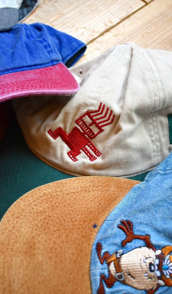 ツートンキャップ帽子コーデ@古着屋カチカチ