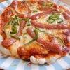 ピザとシュトレンの画像