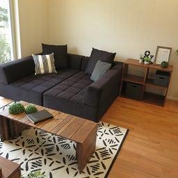 画像 家具の配置アドバイス!映画鑑賞が好きな方へ家具の配置提案!「島型」ソファをおすすめしました。 の記事より 12つ目