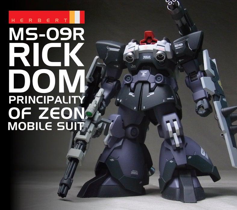 HGBF 1//144 Dom R35 Gundam Build Fighters Tri