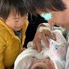 2人目出産時のパパと息子(3歳半)のキロクの画像