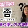 基本副詞「좀」多様な使い方説明【韓国語勉強】한국어공부の画像