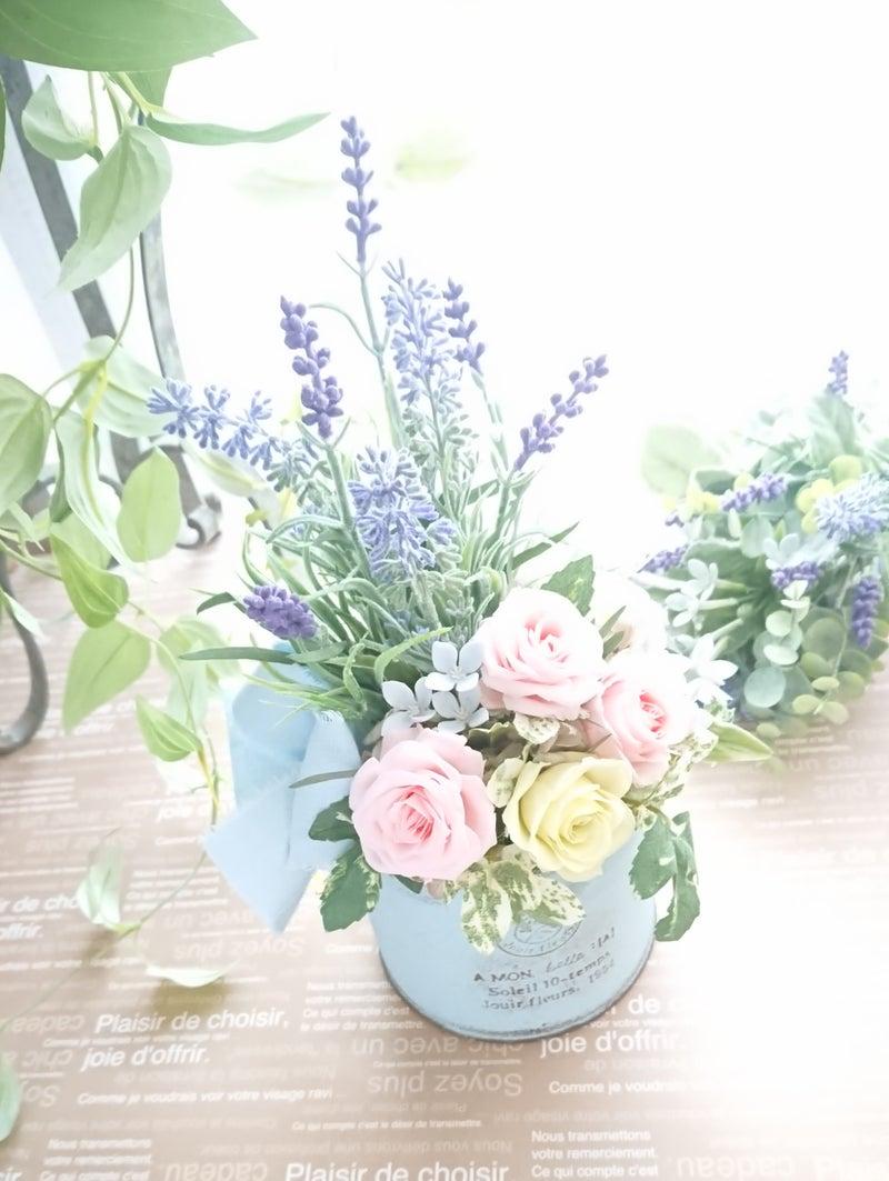 季節のお花でお部屋の中を模様替え♪ lavender arrange☆