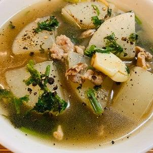 黒胡椒三段活用!大根のデトックススープの画像
