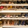 靴の収納術の画像