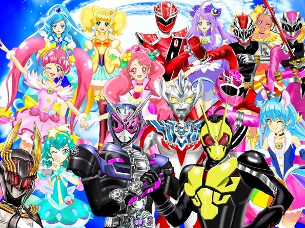 ルナ・ルーンのイラスト集世界よ、これが日本のヒーローだ!!★令和ヒーロー大集合!2020