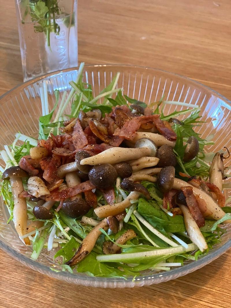 水菜 瞬 殺 サラダ