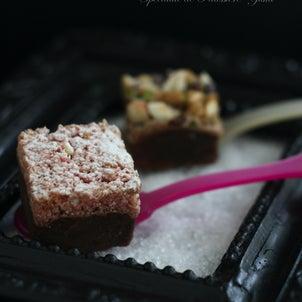 究極の焼き菓子-② ルビー・ショコラとビジュー・ショコラ&ショコラショーの画像