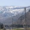 雪国の只見が真夏日でした。の画像