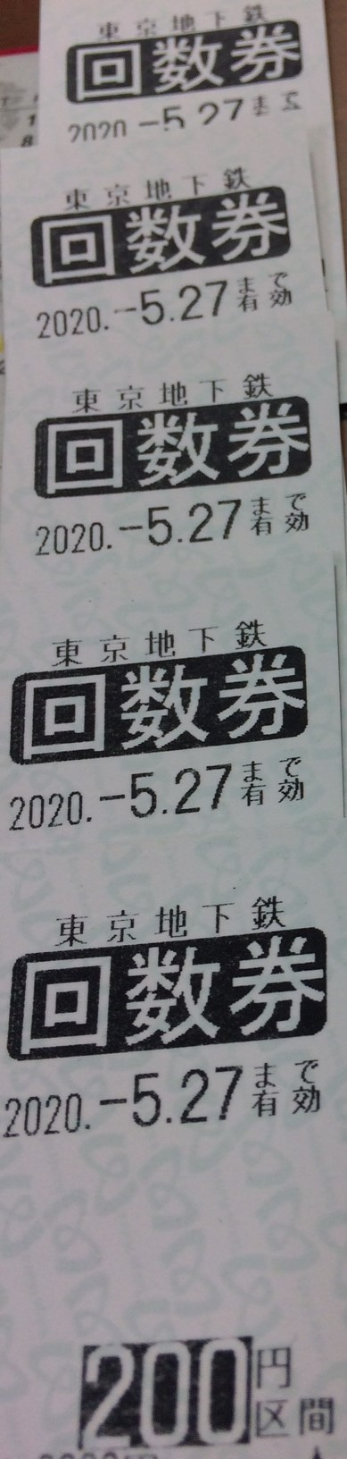 券 東京 払い戻し 回数 メトロ