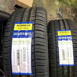 タイヤ交換225/35R19です。の画像