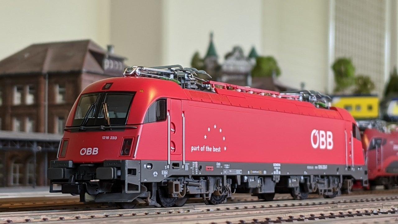 PIKO E-Lok BR 182 Ep CD Rh 1216 Taurus »Railjet« VI                   #624