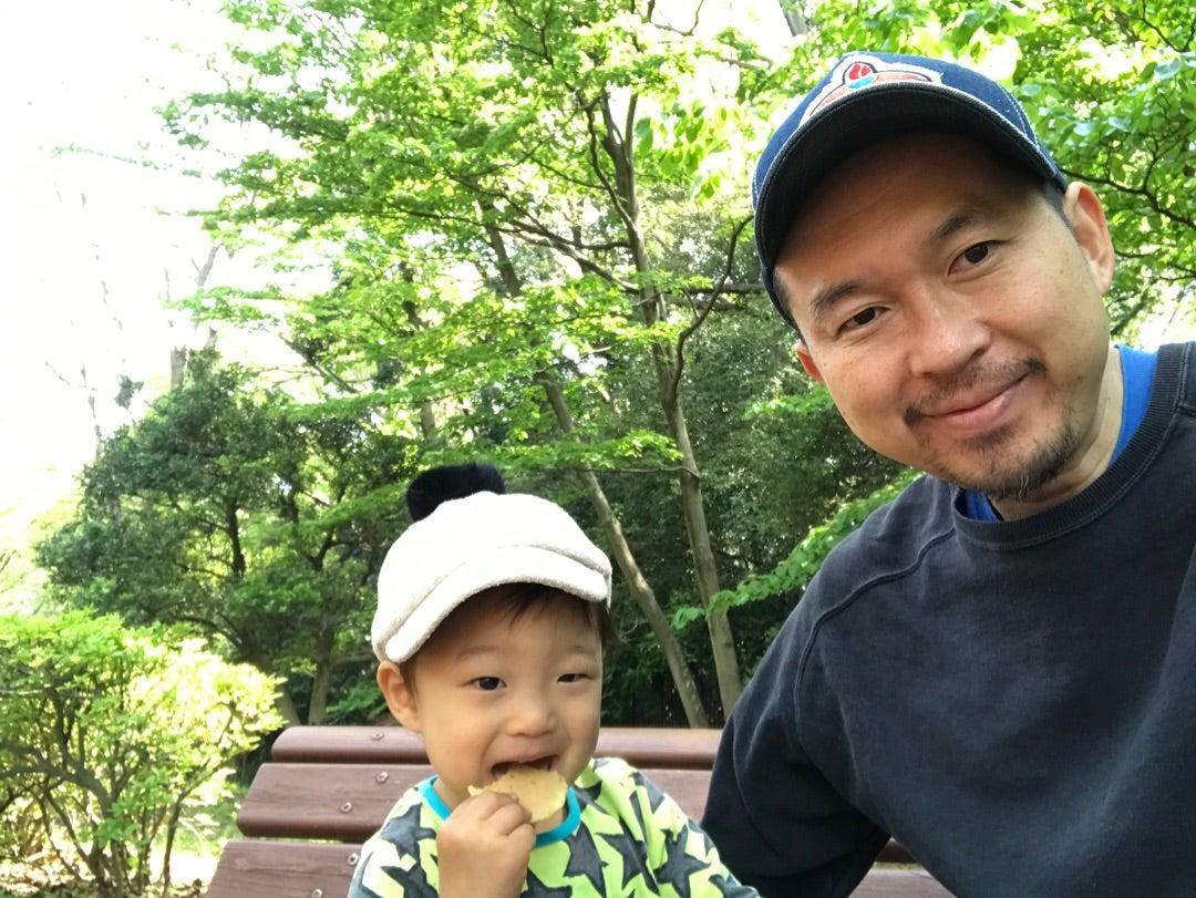 息子と代々木公園へ