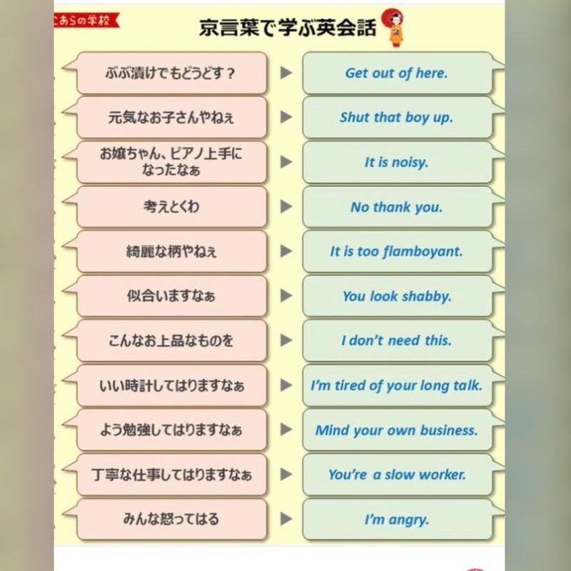 京言葉で学ぶ英会話が面白い!からのカレーまん   「手作り」主婦 ...