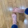 親子で足を使って遊ぼうの画像