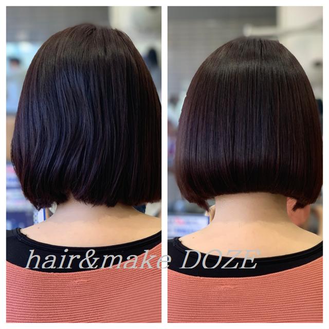 キレイな美髪の持続はメンテナンスも大切。