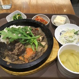 【ソウル高速バスターミナル】セントラルシティ中2階飲食フロアで美味しいビビンパ!《スラビム》