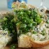 しらす海苔トーストの画像