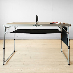 画像 アウトドア用のテーブルがミニ卓球台に早変わり!子供たちの運動不足解消に役立ちます!パパも一緒に… の記事より 8つ目