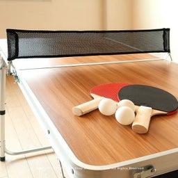 画像 アウトドア用のテーブルがミニ卓球台に早変わり!子供たちの運動不足解消に役立ちます!パパも一緒に… の記事より 7つ目