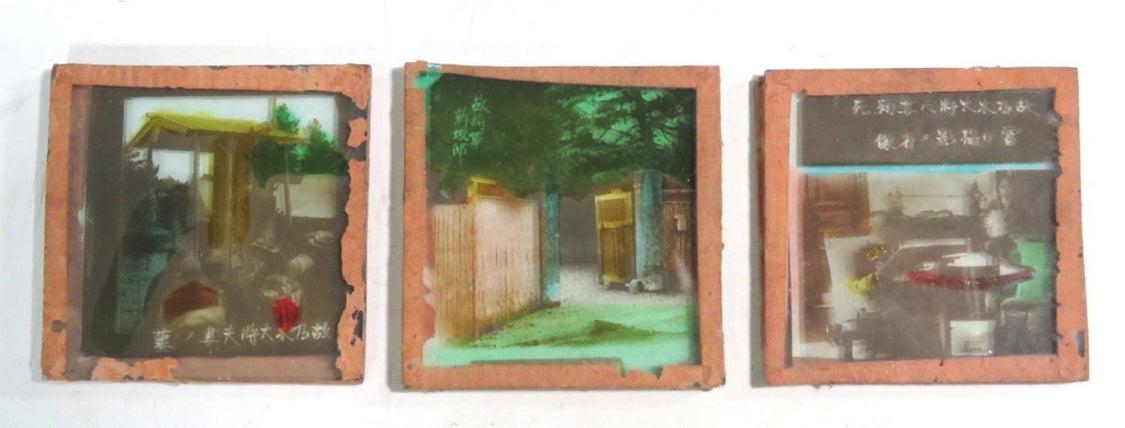 明治~大正時代頃 ガラススライドと筒型ルーペの記事より
