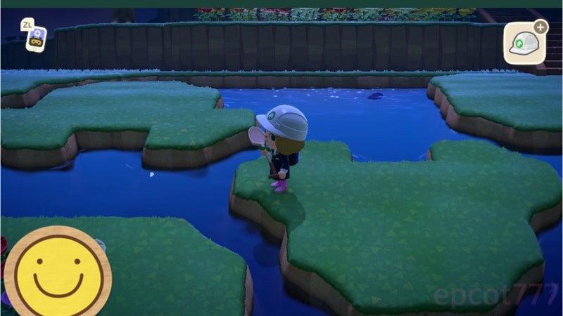 あつ森 ミッキー 池